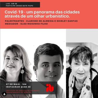 Live Covid-19 - Um panorama das cidades através de um olhar urbanístico