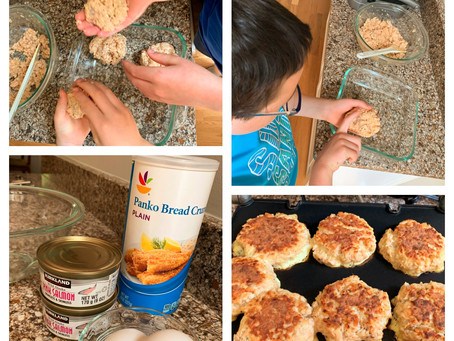 Salmon Cakes - Easy Kids' Recipe
