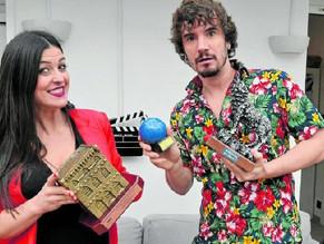 """Ylenia Baglietto y Lander Otaola: """"Nos hemos enganchado al Canal Cocina"""""""