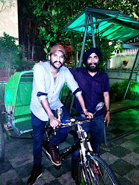 Singer Vijay Yesudas at Sethi da Dhaba