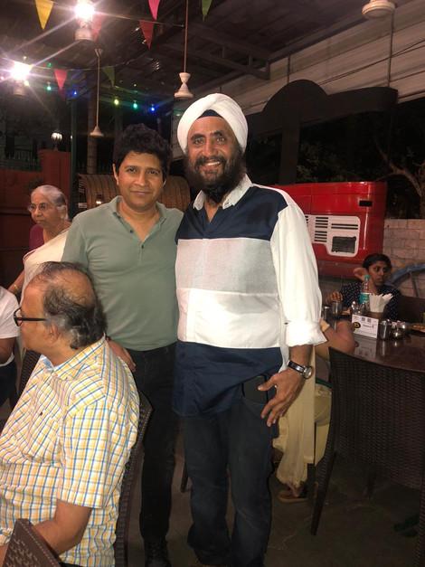 Singer KK at Sethi Da Dhaba