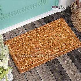 Welcome Impression printed Coir Door Mat