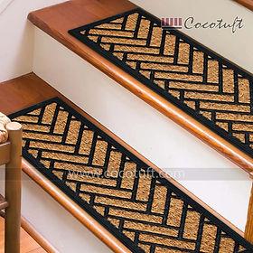 Rubber and Coir Stair Mat