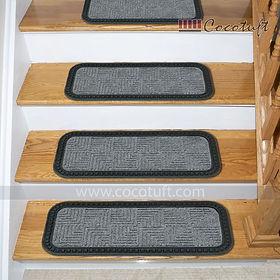 Polypropylene Grey Stair Mat
