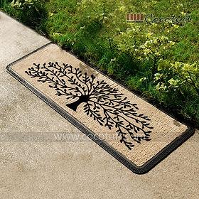 Life of Tree design printed Polypropylene Mat