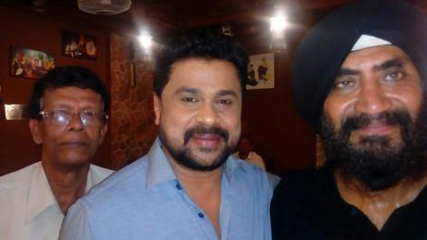 Actor Dileep at Sethi da Dhaba
