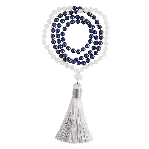 TOTALITY MALA NECKLACE (6mm or 8mm)