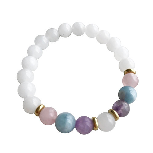 BOUNDLESS LOVE MALA BRACELET (8mm)
