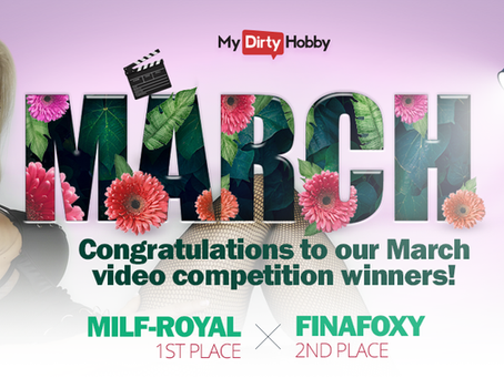 March Video Competition Winners