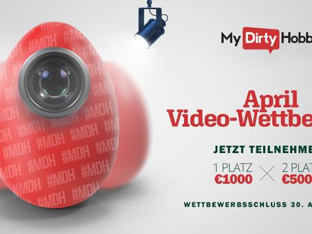 April Video-Wettbewerb!
