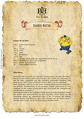 Rezept Blaubeer-Muffin Heidelbeer-Muffins Blueberry-Muffins