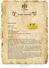 Rezept Blaubeer-Pfannkuchen Heidelbeer-Pfannkuchen Blueberry-Pancake