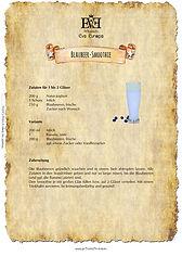 Rezept Blaubeer-Smoothie Heidelbeer-Smoothie
