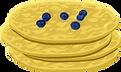 Rezept Blaubeer-Pfannkuchen