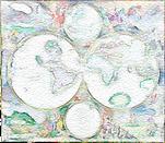 Weltkarte Antik Globus Wandkarte