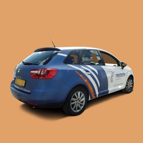 Autobelettering - Seat Ibiza