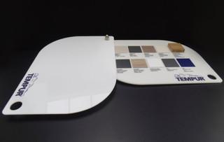 Tumpur - materialen sample