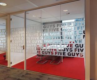 Privacyfolie - hoofdkantoor Amsterdam