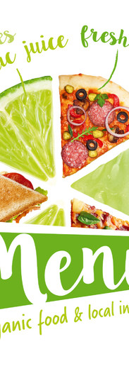 Green - organic food & local ingredients