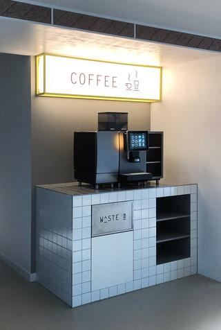 Lichtreclame - koffie corner
