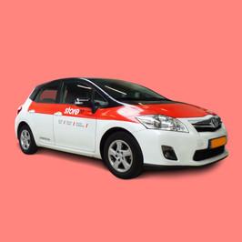 Autobelettering - Toyota Auris