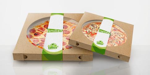 Pizzaverpakking