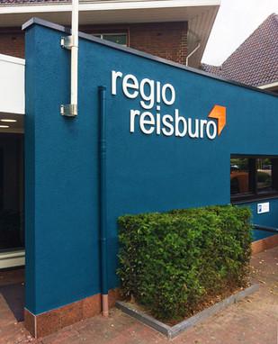 Regio Reisbureau - Gevelreclame