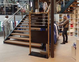 Van Tilburg mode - bewegwijzering