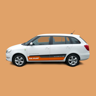 Autobelettering - Skoda Fabia Combi