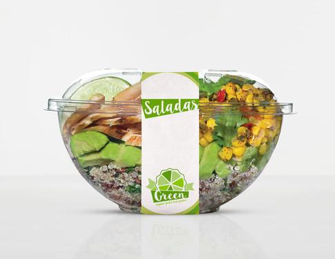 Saladeverpakking