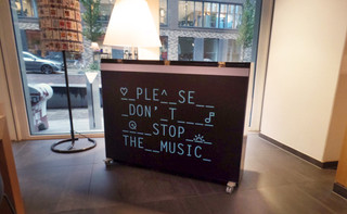 Vinyl stickers - piano