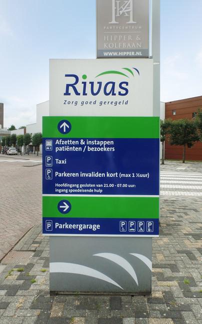 Rivas - Bewegwijzering zorgcomplex