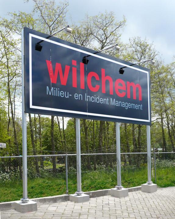 Wilchem - Bord met logo en verlichting
