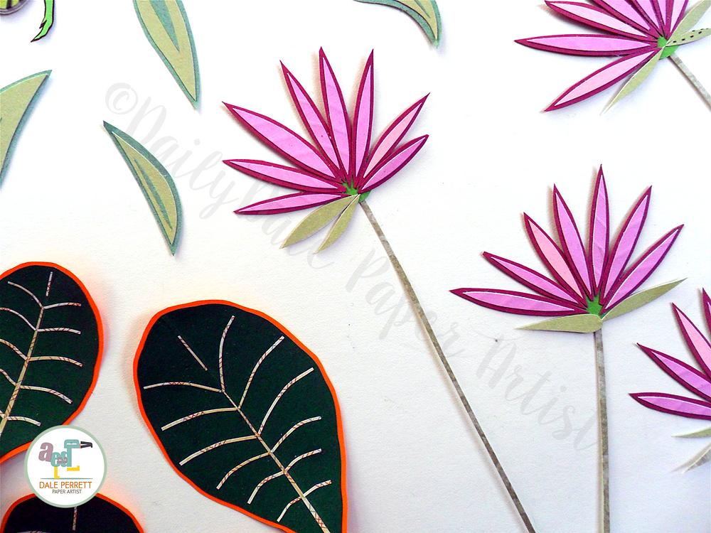 Paper plants detail