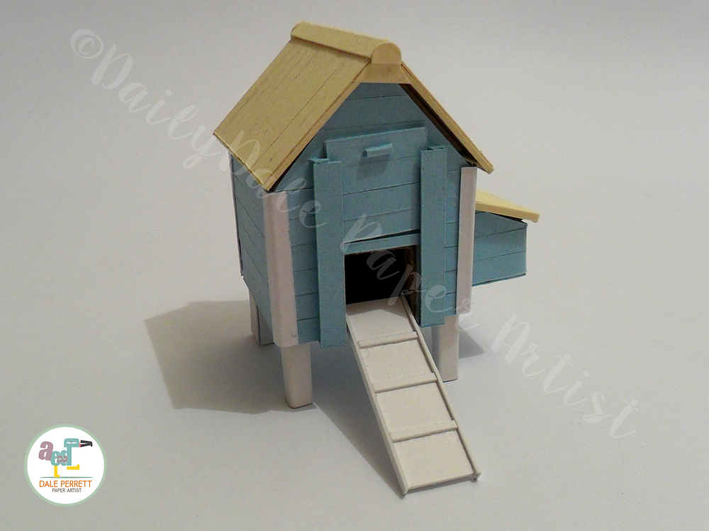 Hen House front view..