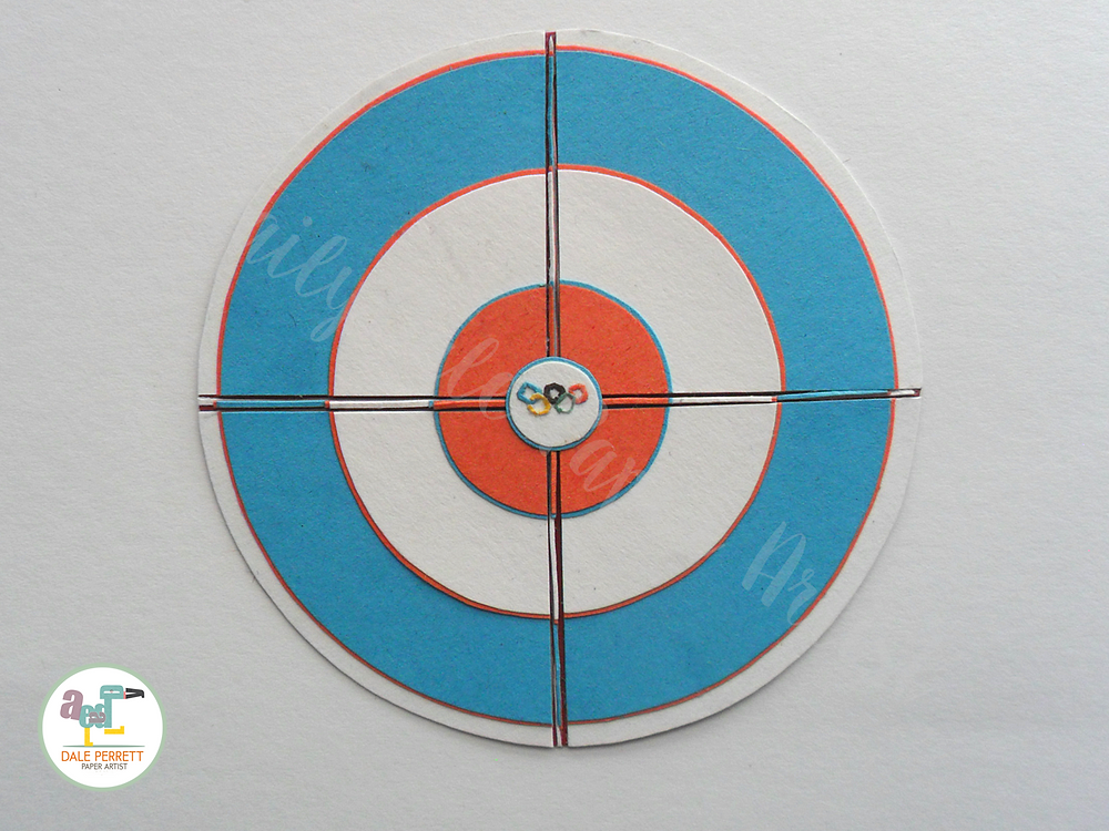 The curling ring.