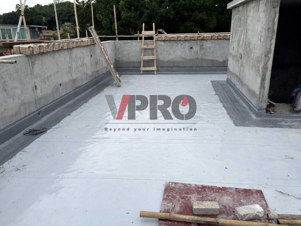天面防水 Roof waterproofing by V-PRO Construction Material Ltd.