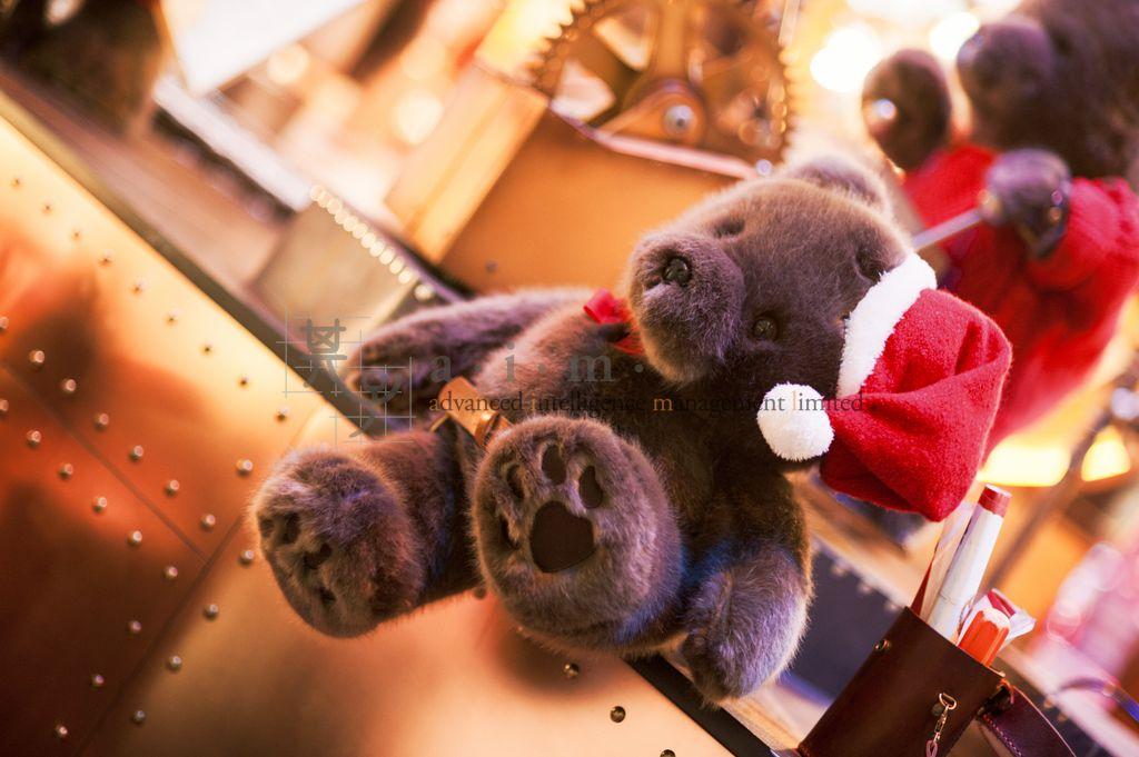 Landmark Xmas 2015 animated bear