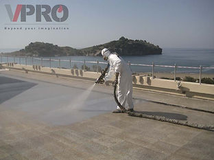 VIP QuickSeal - Spray applied, seamless, instant curing flexible membrane