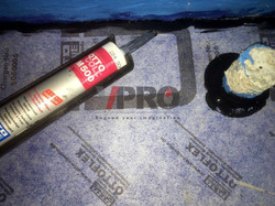 浴室防水 Wetroom waterproofing by V-PRO Construction Material Ltd.