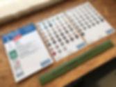 OTTOSEAL S100 mini color chart (A5 size)