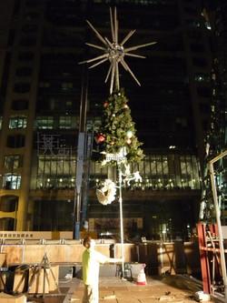 Giant X'mas Tree For HK Winterfest