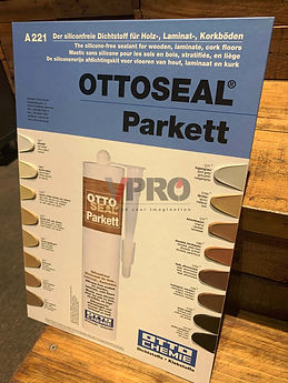 OTTOSEAL® Parkett Model # A221, the silicone-free special sealant for wood, laminate and cork floors seals reliably, even on irregular surfaces. It dries quickly and can therefore be ground and varnished soon after application.
