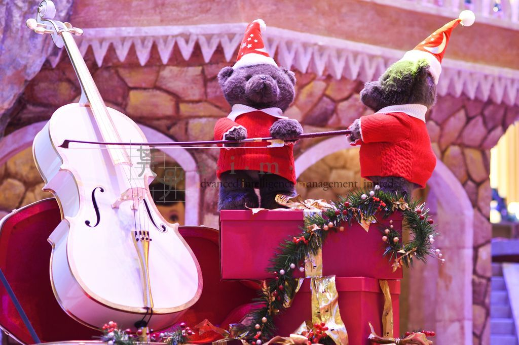 The Santa Paws Cellists