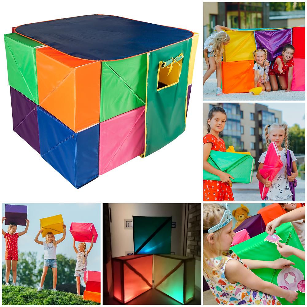 Игровые наборы ФАНКУБ из кубиков - трансформеров, конструктор для детей.