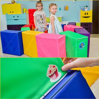 Игровой набор из кубиков - трансформеров ФАНКУБ