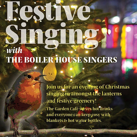 Christmas Singalong at Dalston Curve Garden