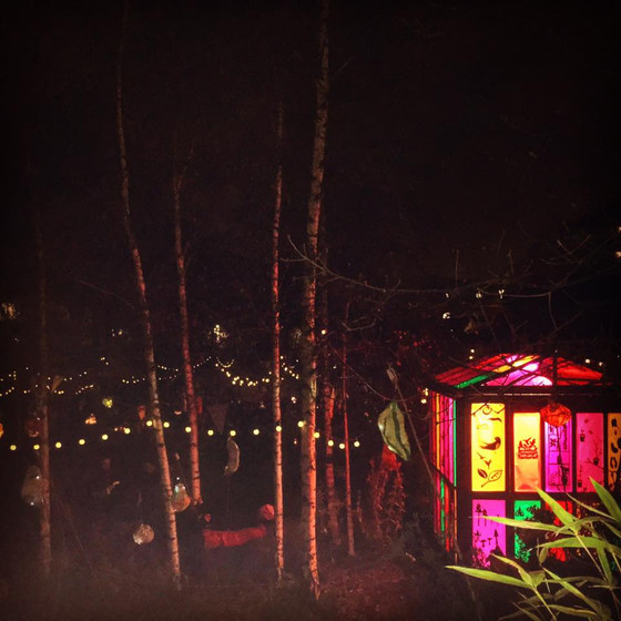 All welcome to Christmas Singalong at Dalston Eastern Curve Garden