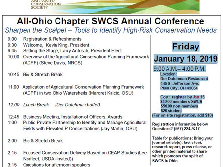 All-Ohio Chapter SWCS Annual Conference