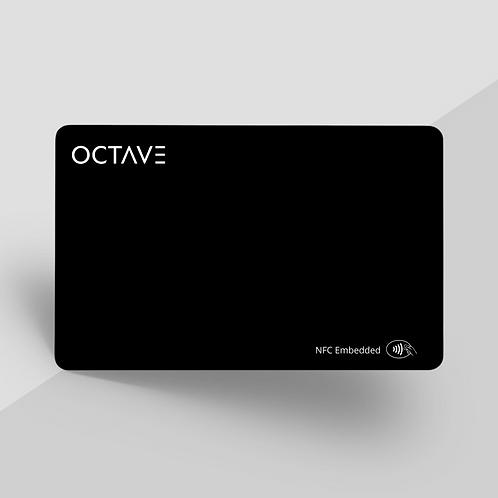 Octave Card - Dark Mode